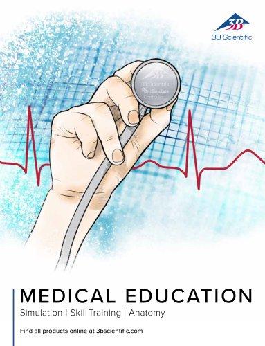 3B Scientific Medical Education Catalog-Simulation - SkillTraining - Anatomy