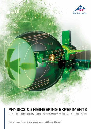 Physics & Engineering Experiments incl. Bio & Medical Physics