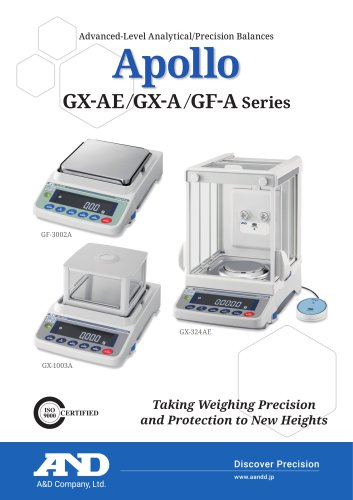 Apollo GX-AE/GX-A/GF-A Series