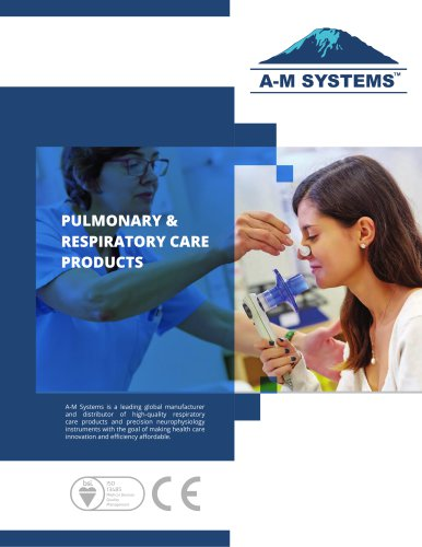 PULMONARY & RESPIRATORY CARE PRODUCTS