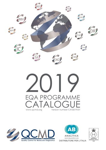 EQA PROGRAMME CATALOGUE