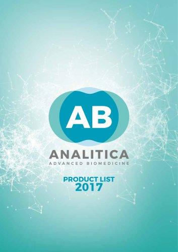 PRODUCT LIST 2017