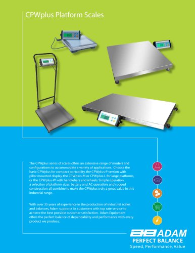 CPWplus M Weighing Scales