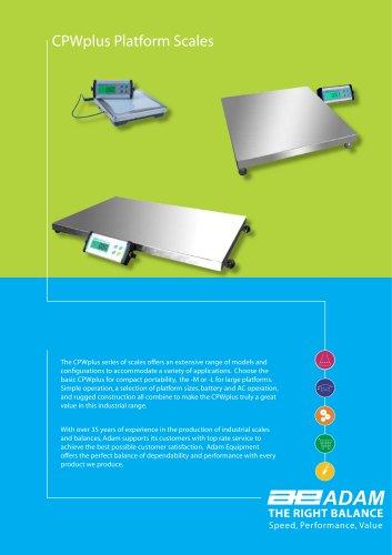 CPWplus Platform Scales