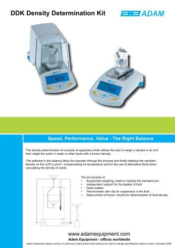 Density Determination Kit (mg models only)