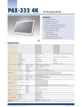 PAX-332 4K