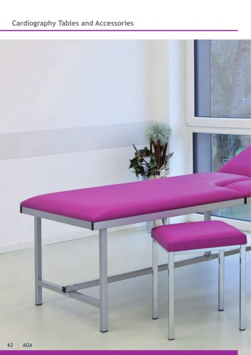 Cardiography Tables  and accessories