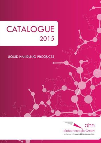 Catalogue 2015 LIQUID HANDLING PRODUCTS