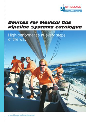 Devices for Medical Gas Pipeline Systems Catalogue