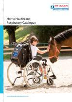 Home Healthcare respiratory catalogue