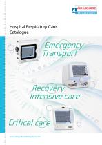 Hospital Respiratory care catalogue