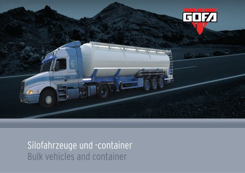 Bulk vehicles and container