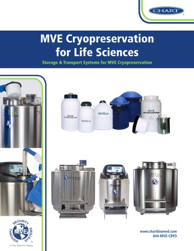 Chart MVE Cryopreservation for Life Science