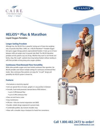 HELiOS™ Plus & Marathon Liquid Oxygen Portables