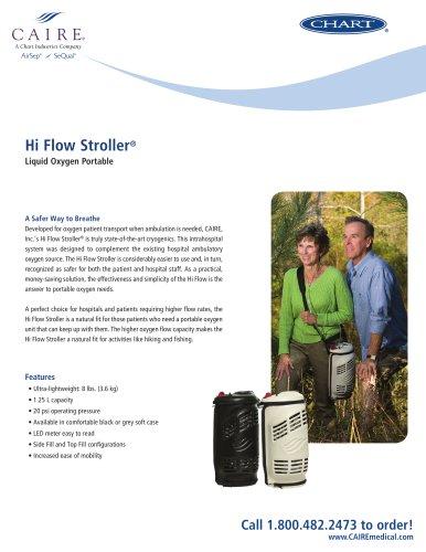 Hi Flow Stroller® Liquid Oxygen Portable
