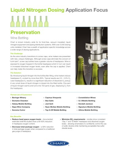 Liquid Nitrogen Dosing Application Focus