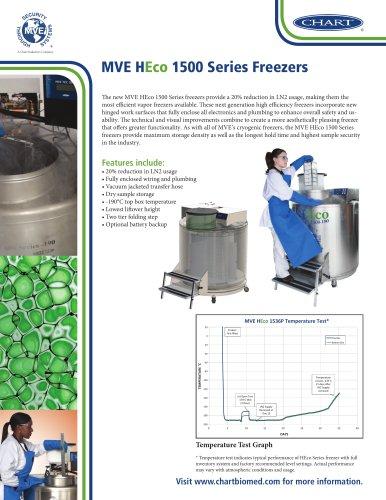 MVE HEco 1500 Series Freezers