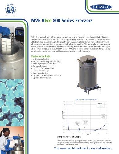 MVE HEco 800 Series Freezers