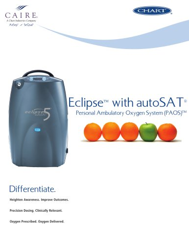 SeQual Eclipse™ with autoSAT® (apples to oranges)