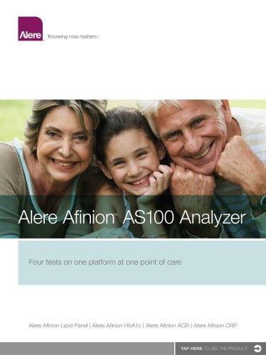 Alere AfinionTM AS100 Analyzer