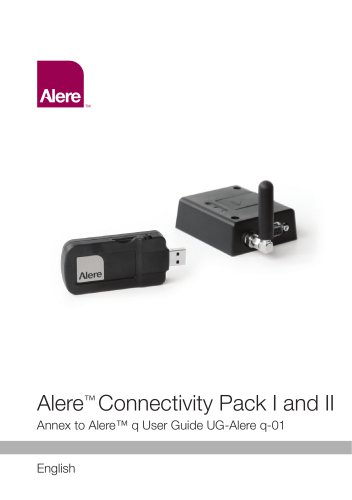 Alere™ Connectivity Pack I and II