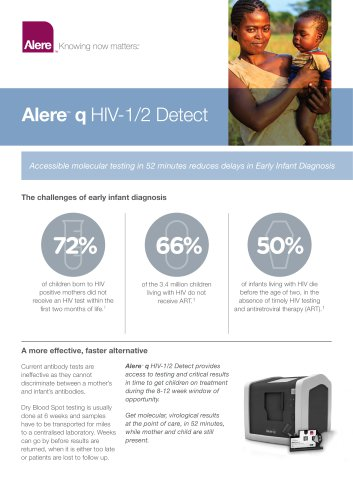 Alere™ q HIV-1/2 Detect