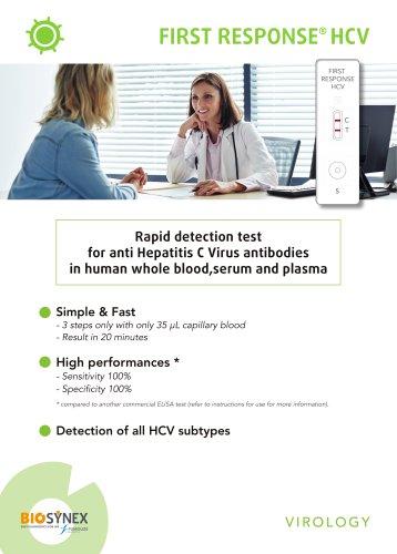 FIRST RESPONSE® HCV