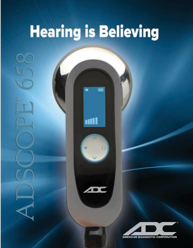 Adscope 658 – Product Brochure