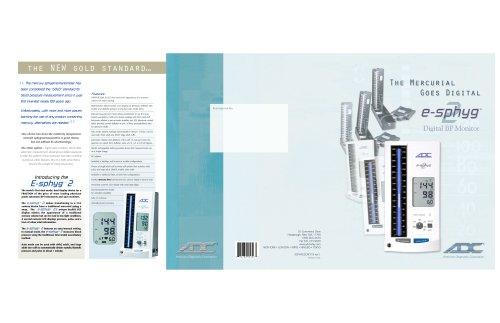 Diagnostix e-sphyg2 9002 - Literature