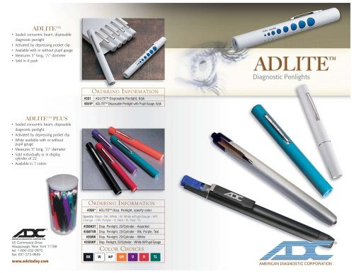 LED Examination penlight Adlite Pro
