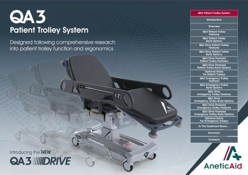 QA3 Patient Trolley System