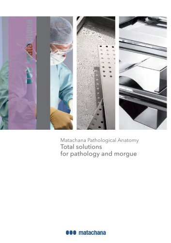 Total solutions for pathology and morgue