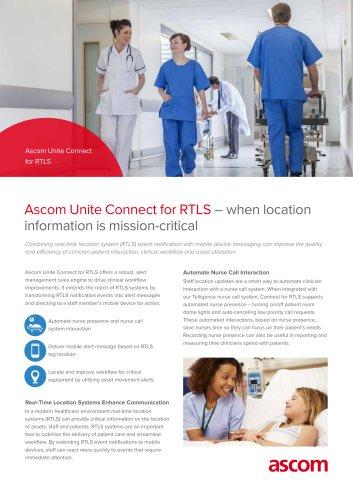 Ascom Unite Connect for RTLS