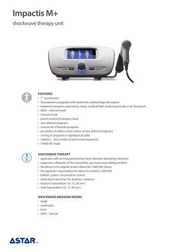 Impactis M+ - shockwave therapy unit
