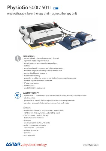 PhysioGo 500 - product card