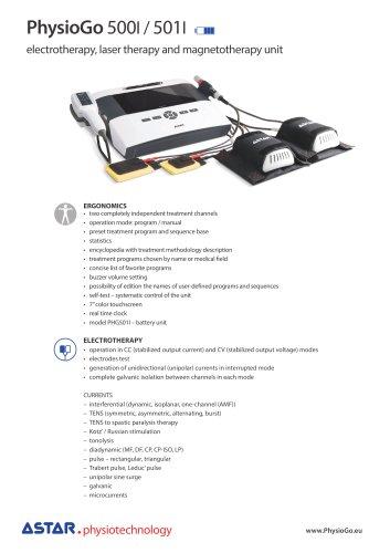 PhysioGo 500I - multifunctional unit