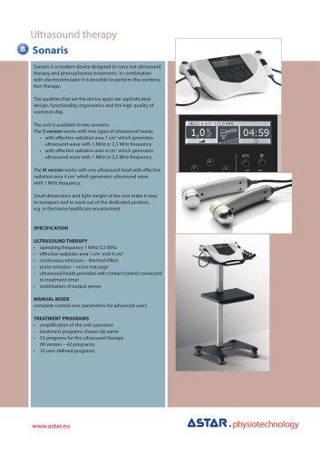 Sonaris S - ultrasound unit