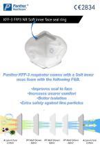 FFP3 folding Safety mask  KFF-3 particulate respirator Catalogue - 3