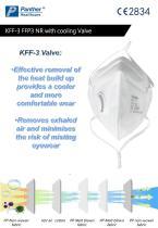 FFP3 folding Safety mask  KFF-3 particulate respirator Catalogue - 4