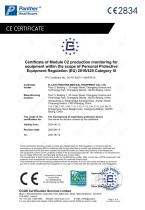 FFP3 folding Safety mask  KFF-3 particulate respirator Catalogue - 7