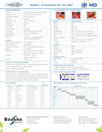 "NDS Radiance 19"" full MMI 90R0035"