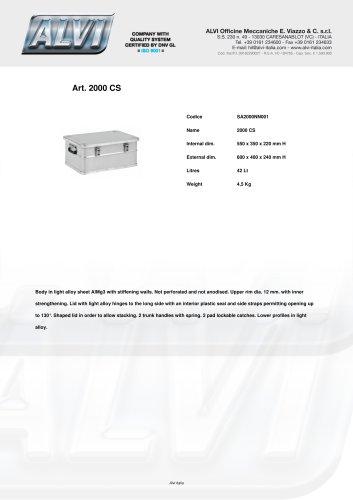 Aluboxes SA2000NN001