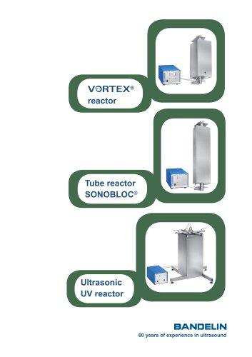 Ultrasonic reactors