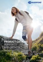 PRODUCT CATALOG SUPPORTS AND ORTHOSES