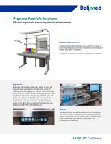 Belimed Prep and Pack Workstation - 1