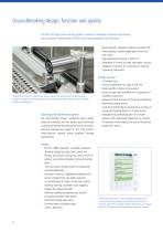 WD 750, Large-scale cleaning, disinfection and drying system in accordance with EN ISO 15883 - 4