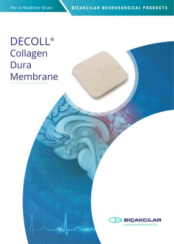 Bicakcilar-Dura Membrane Catalog