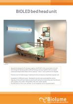 BIOLED bed head unit
