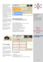 User friendly routine check with the nystagmography system eVNG