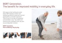 BORT Generation: For better mobility for the aged - 3